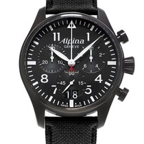 Alpina STARTIMER PILOT CHRONOGRAPH  - 100 % NEW - FREE SHIPPING