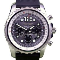 Breitling Chronospace A23360 Men's 46mm Chronograph Gray...