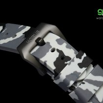 Panerai Horus Snow Camouflage Rubber Straps With Pvd Buckle,...