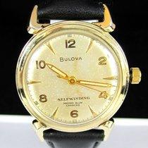 Bulova Maximo Blum Automatic Vintage Steel & Gold