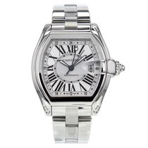 Cartier Roadster Gmt Xl W62032x6 Stainless Steel Watch For Men
