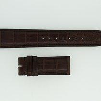 IWC Lederband / Alligator / Dunkelbraun 20/18mm 135/55mm