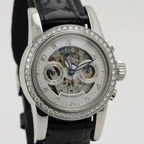 Girard Perregaux Steel Ladies Diamond Chronograph Skeleton 8046