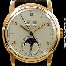 Patek Philippe 2497 18k Rose Gold Perpetual Calendar Center...