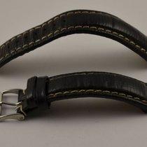 Fortis Leder Armband 20mm Mit Dornschliesse 18mm Stahl Rar