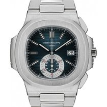 Patek Philippe Nautilus 5980/1A-001 Blue Index Stainless Steel...