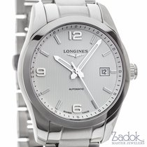 Longines Conquest Classic Watch 40mm White Dial Date Ref...