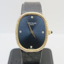Patek Philippe Ellipse 18k Yellow Gold Factory Diamond Dial