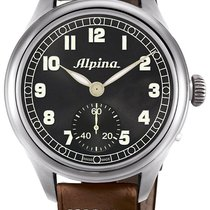 Alpina Geneve Pilot AL-435B4SH6 Herrenarmbanduhr Sprunggehäuse