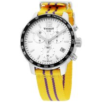 Tissot Quickster Lakers Nba Special Edit. Silver Dial Men'...