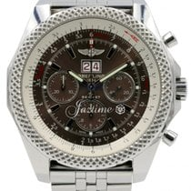Breitling Bentley 6.75 A44364 Speed Havana Brown Stainless...