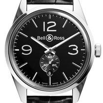 Bell & Ross BR 123 Vintage BRV 123 Officer Black