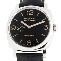 Panerai New  Radiomir Stainless Steel Black Automatic PAM00572