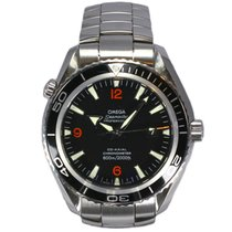 Omega Seamaster Planet Ocean Big Size Stainless Steel Black...