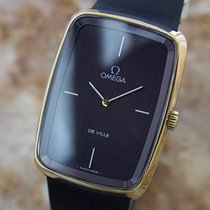 Omega Deville Swiss Made Mens 1970s Gold Plated Manual Vintage...