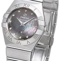 Omega Constellation Brushed Quarz Mini Tahiti