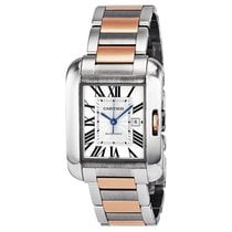 Cartier Tank Anglaise Medium 18 kt Rose Gold and Steel Unisex...
