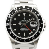 "Rolex GMT-Master II ""Coke"" Stainless Steel Red/Black..."