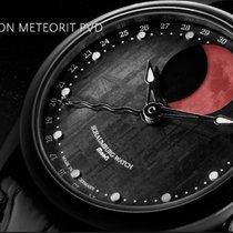 Lindburgh + Benson Grand Perpetual Blood Moon Meteorite PVD