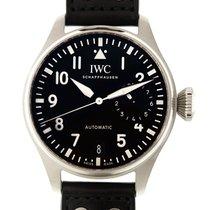 萬國 (IWC) Pilots Stainless Steel Black Automatic IW500912