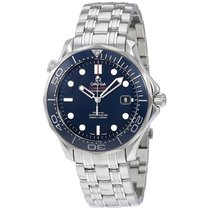 Omega Seamaster Blue Dial Automatic Mens Watch 212.30.41.20.03...