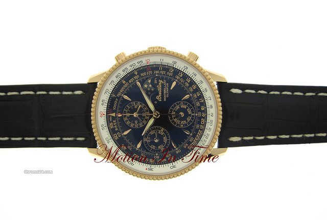 Breitling NAVITIMER MONTBRILLIANT OLYMPUS MOONPHASE ROSE GOLD - 500 PC
