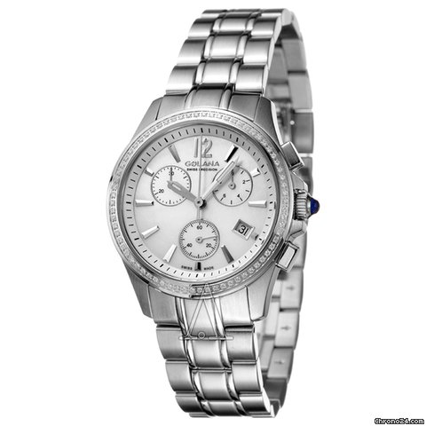 Golana Women's Aura Pro 200 Chronograph Watch