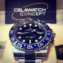 Rolex GMT Master II Ceramic Black Blue 116710BLNR New