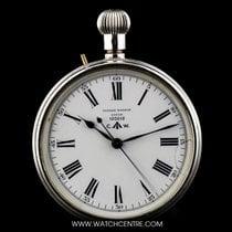 ユリス・ナルダン (Ulysse Nardin) Silver White Enamel Dial British...
