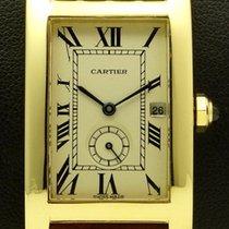 Cartier Tank Americaine Medium, 18 kt yellow gold