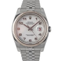 Rolex Datejust Steel with White Arabic Numeral Dial, Ref: 116234