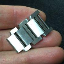 Cartier 1 Maglia lucida satinata Link Strap acciaio steel 18mm