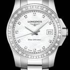 浪琴 (Longines) Conquest Quartz Ladies Diamonds Mother of Pearl...