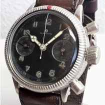 Tutima Glashuette aviator's chronograph  of the German air...