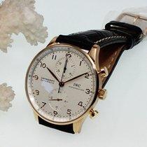 IWC Portugieser Chronograph 750er Gelbgold
