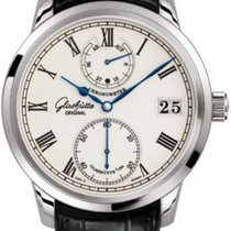 Glashütte Original Senator Silver Dial Men's Hand Wind Watch