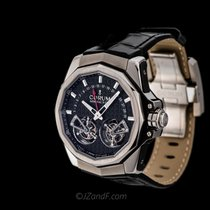 "Corum AC-One-45 Double Tourbillon""  Retrograde Date"