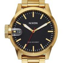 Nixon A441-510 Chronicle 44 All Gold Black 44mm 10ATM