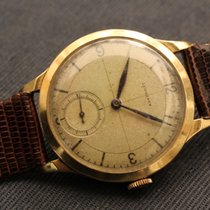 Longines vintage sector dial yellow gold 18kt cal. 13.82 -...