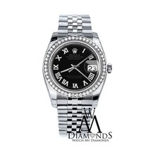 Rolex 2016 Diamond 36mm Rolex Jubilee Datejust Stainless Steel...