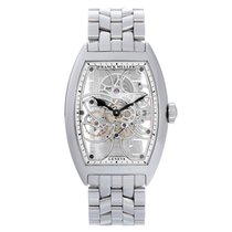 Franck Muller Cintree Curvex 8880 B S6 SQT Men's Watch