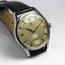 Omega vintage, 36 mm, steel, 1950, 50s, oversize