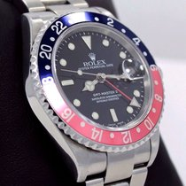 Rolex Gmt Master Pepsi 16710 Blue/red 40mm Steel Oyster D...