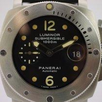 Panerai Luminor 1950 SUB 1000m mit Box und Pap