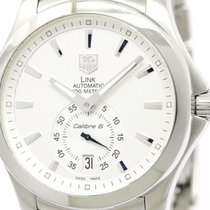 TAG Heuer Polished Tag Heuer Link Calibre 6 Steel Automatic...