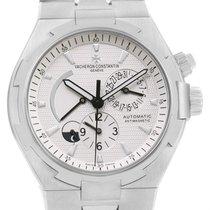 Vacheron Constantin Overseas Dual Time Silver Dial Mens Watch...