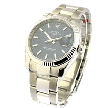 Rolex Unworn 115234bkso Mens Date with Oyster Bracelet - Steel...
