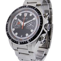 Tudor 70330N/95740 Heritage Chrono in Steel - on Steel...