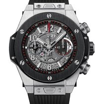 Hublot Big Bang Unico Chronograph in Titanoum with Black...