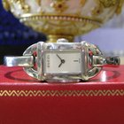 Gucci Ref. 6800l Stainless Steel Bangle Bracelet Round Watch